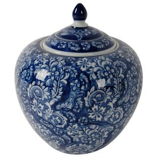 Grand Deluxe Ceramic Jar Blue
