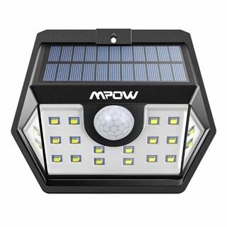 Mpow Solar Lights Outdoor 20 LED Motion Sensor Lights for Garage