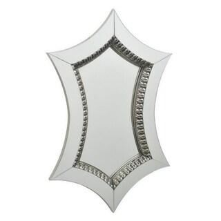 Three Hands Wood Mirror - Modern & Contemporary - 16 X 1.75 X 23