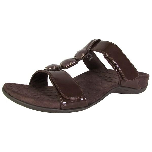 af854915ddf Shop Orthaheel Womens Albany Jeweled Slide Sandal Shoes