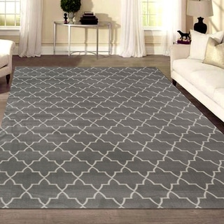 Link to Admire Home Living Plaza Modern Contemporary Geometric Pattern Area Rug Similar Items in Patterned Rugs