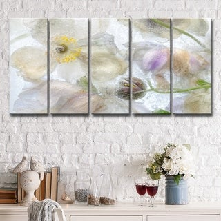 Ready2HangArt 'Anemone Frost' 5-Pc Canvas Wall Décor Set - Multi-color