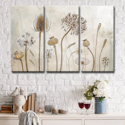 Ready2HangArt 'Growing Old' 3-Pc Canvas Wall Décor Set - Brown