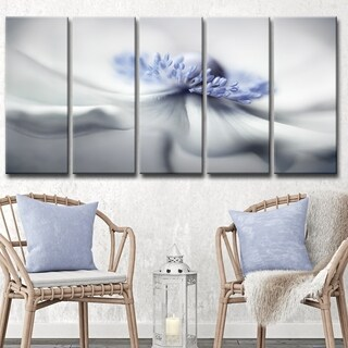 Ready2HangArt 'Anemone Spirit' 5-Pc Canvas Wall Décor Set - Grey