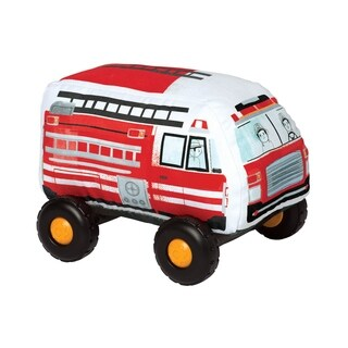 Manhattan Toy Bumpers Firetruck Toy Vehicle