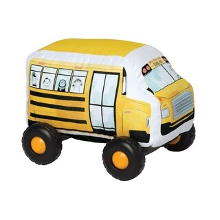 Manhattan Toy Bumpers School Bus Toy Vehicle