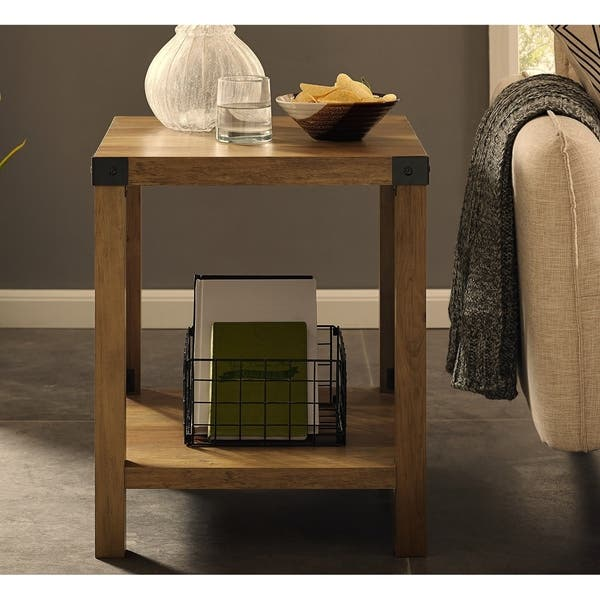 Shop The Gray Barn 18-inch Kujawa Rustic Side, End Table ...
