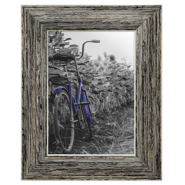 Shop 2 Pack 5x7 Inch Tan Rustic Picture Frame With Easel Made For