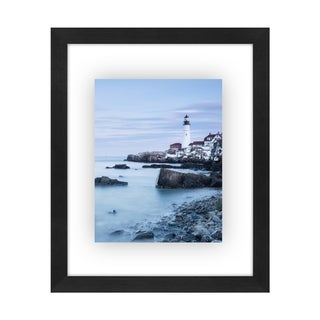8.5x11 Inch Floating Document Frame - Modern Picture Frame Designed to Display a Floating Photograph, Black