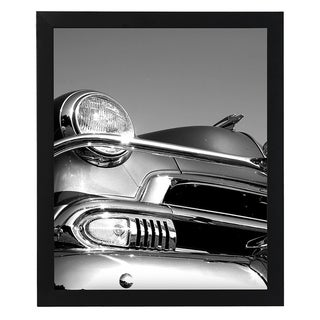 """Americanflat 18x24 Black Picture Frame - 1.5\ Wide - Smooth Black Finish; Vertical and Horizontal Hanging Hardware Included"""""""