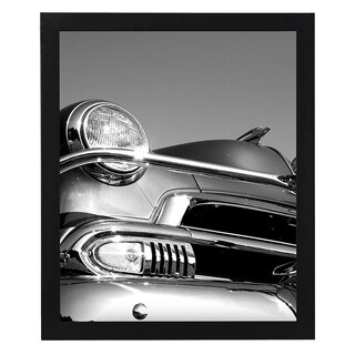 18x24 Black Picture Frame - 1.5\ Wide - Smooth Black Finish; Vertical and Horizontal Hanging Hardware Included""