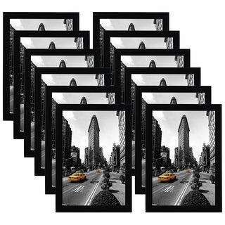 Americanflat 12 Pack - 11x17 Picture Frames by Made for Legal Sized Paper