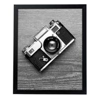 """16x20 Black Picture Frame - 1.5\ Wide - Smooth Black Finish; Vertical and Horizontal Hanging Hardware Included"""""""