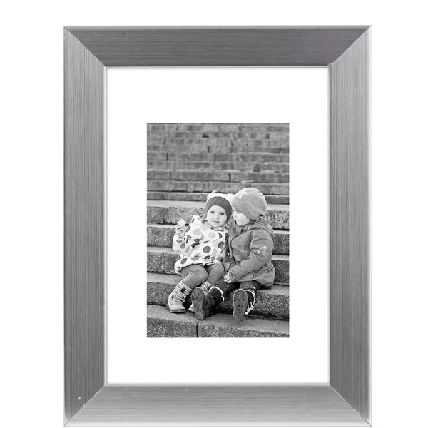 Shop Americanflat 8x10 Silver Picture Frame Made To