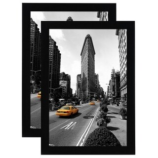 2-Pack 11x17 Picture Frames by Americanflat; Made for Legal Sized Paper; Wall Mounting Material Included