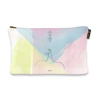 Oliver Gal 'Maggie P Chang - Make Love' Pouch