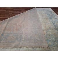 """FineRugCollection Hand Made Oushak Oriental Rug - 8'11""""  x  11'11"""""""