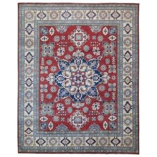 """FineRugCollection Hand Made Fine Kazak Oriental Rug - 8' x 9'10"""""""