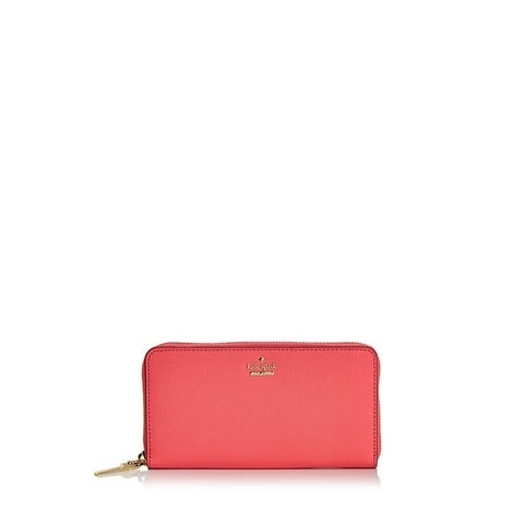 Kate Spade Cameron Street Bright Flamingo Lacey Wallet