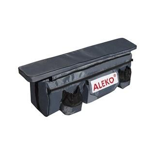 "ALEKO Boat Seat Cushion Under Seat Bag 38""X9"" with Pockets Dark Gray"