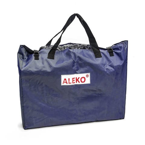 "ALEKO Boat Floorboard Storage Carrying Dry Bag 27""x35"" Blue"