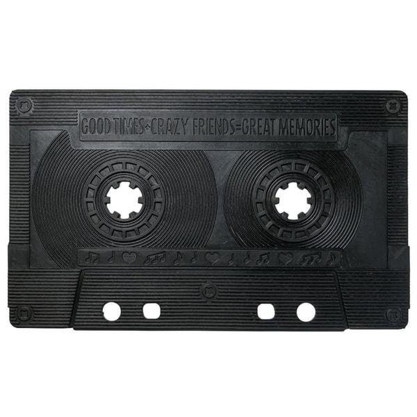 "Unbelievable Mats 18"" x 30"" Eclectic Cassette Tape Door Mat"