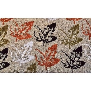 "Unbelievable Mats 18""x30"" Leaves Door Mat"