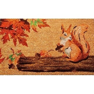 """Unbelievable Mats 18""""x30"""" Squirrel Door Mat"""
