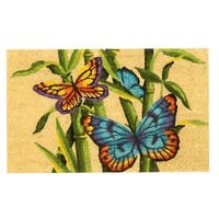 "Unbelievable Mats 18""x30"" Butterfly Door Mat"