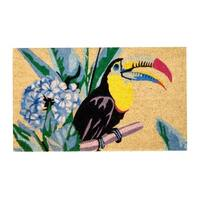 "Unbelievable Mats 18""x30"" Tropical Toucan Door Mat"