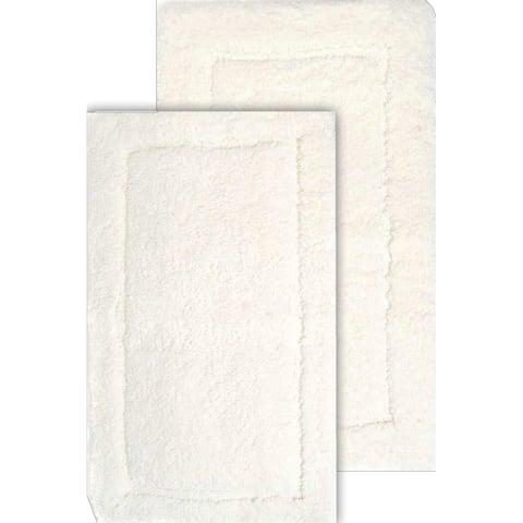 "Chesapeake Microfiber Spa 2 Pc. Bath Rug Set (23""x39"" & 20""x34"")"