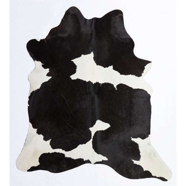 Nash Cowhide Rug White & Black - 6'x8'