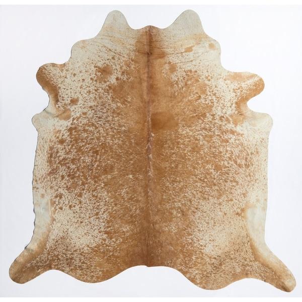 "Nash Cowhide Rug Brown & White - 5'x6'6"""