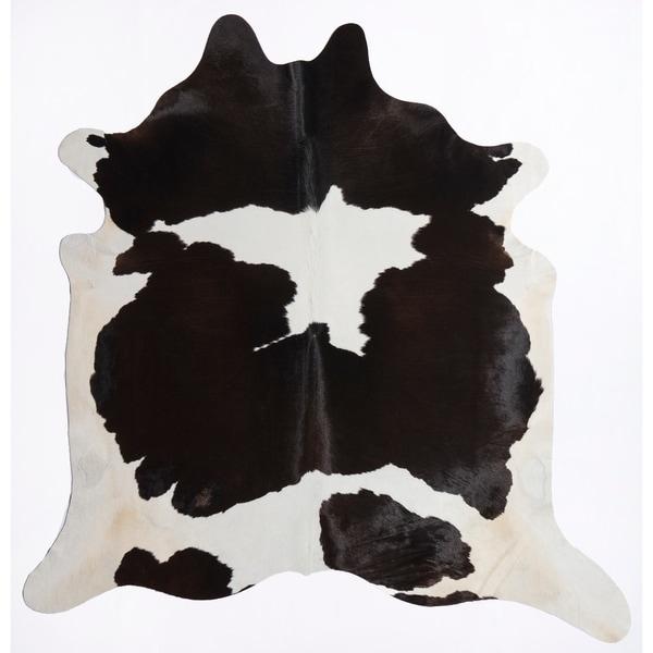 Nash Cowhide Rug Black Spots - 6'x8'