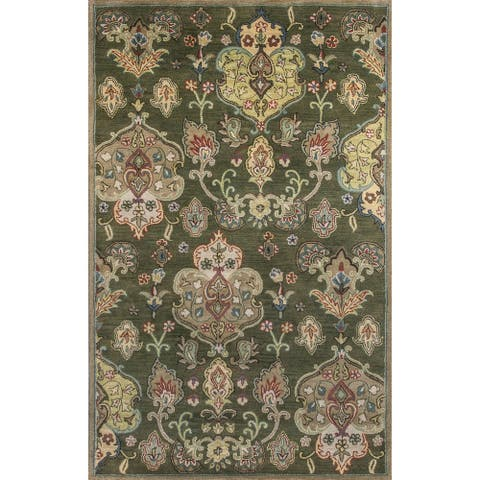 KAS Syriana Tapestry Hand-tufted Wool Rug
