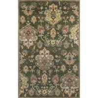 KAS Syriana Olive Tapestry Rug - 9' x 13'