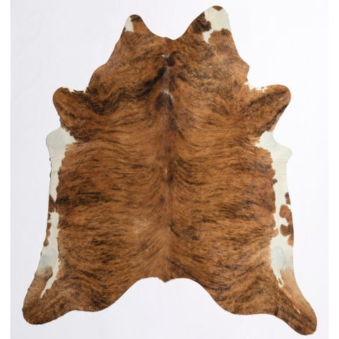 Nash Cowhide Rug Medium Dark - 5'x6'6""