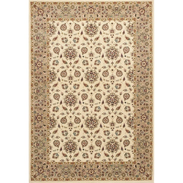 Shop KAS Kingston Ivory/Beige Mahal Rug
