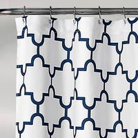 Lush Decor Bellagio Shower Curtain