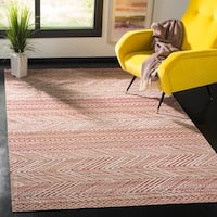 Safavieh Montage Bohemian & Eclectic Pink / Multi Rug - 4' x 6'