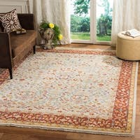 Safavieh Couture Handmade Sultanabad Modern & Contemporary Ivory / Multi Wool Rug - 8' x 10'