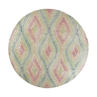 Donny Osmond Home Escape Natural Vista Round Rug - 7'6