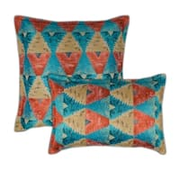Sherry Kline Madras Multi Combo Decorative Pillow