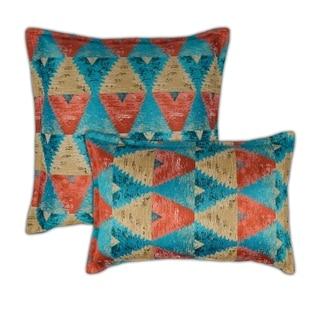 Sherry Kline Madras Multi Combo Decorative Pillow
