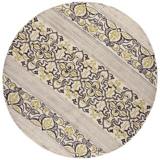 Donny Osmond Home Escape Natural Serenity Round Rug - 7'6