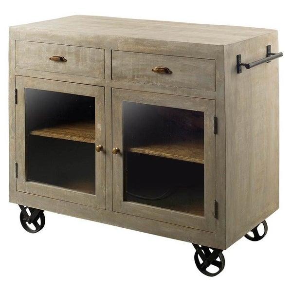 B Q Kitchen Cabinets Sale: Shop Mercana Elmlea Wooden Cabinet