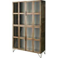 Mercana Pandora Wood/Glass Cabinet