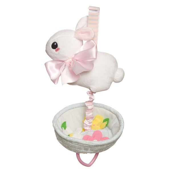 Manhattan Toy Lullaby Bunny Pull Musical Crib Baby Toy 36122063