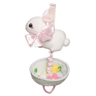 Manhattan Toy Lullaby Bunny Pull Musical Crib Baby Toy