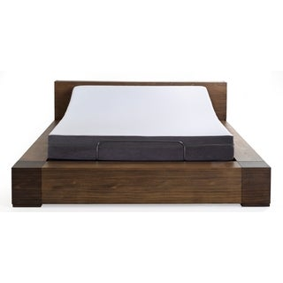 "Sleep Zone 8"" Laguna Firm Queen Memory Foam Mattress and Z150 Adjustable Bed Base"